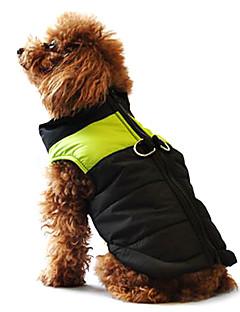 Koirat Takit Liivi Punainen Oranssi Keltainen Vihreä Sininen Maalattu Pinkki Koiran vaatteet Talvi 봄/Syksy värialue Rento/arki Pidä Lämmin