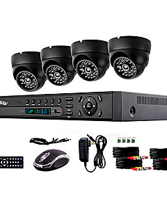 liview® 900tvl Indoor Tag / Nacht-Überwachungskamera und 4-Kanal-HDMI-960H-Netzwerk-DVR-System