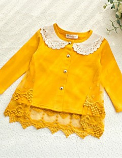 Wedding / Party/Evening / Casual Cotton / Lace Shrugs Long Sleeve Kids Wraps
