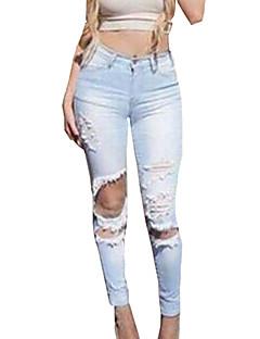 Kvinders Vintage Bukser Bomuld / Polyester