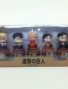 Attack on Titan Muut 16CM Anime Toimintahahmot Malli lelut Doll Toy