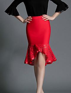 Women's Medium Style Falbala Women's Skirts Lace Sexy Fishtail