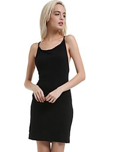 vrouwen halter backless mini-jurk, polyester zwarte bodycon / sexy