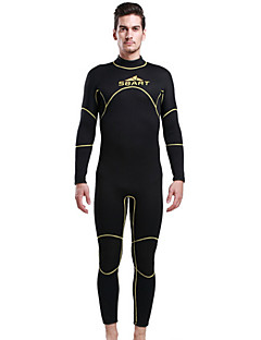 Others Men's Diving Suits / Wetsuit Skin Diving Suit Ultraviolet Resistant / Thermal / Warm Dive Skins  3 to 3.4 mm BrownS / M / L / XL /