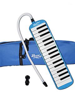 orgue à bouche abs bleu / rose jouet musical