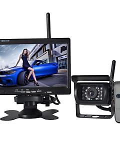 7-Zoll-Monitor drahtlose 170 ° hd Bus Rückfahrkamera + Bus High-Definition-Weitwinkel wasserdichte Kamera cmd