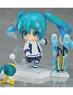 Vocaloid Snow Miku PVC One Size נתוני פעילות אנימה צעצועי דגם בובת צעצוע