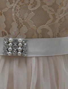 Satin Wedding / Party/ Evening / Dailywear Sash-Bow / Rhinestone Women's Sashes