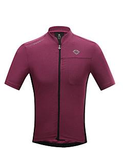 SANTIC Cyklodres Pánské Krátké rukávy Jezdit na kole Trička Dres Vrchní část oděvuRychleschnoucí Odolný vůči UV záření Prodyšné