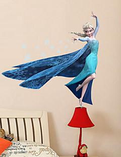 Caricatura Pegatinas de pared Calcomanías 3D para Pared Calcomanías Decorativas de Pared,PVC Material Removible Decoración hogareña