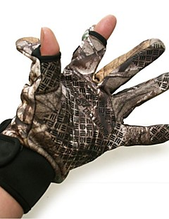 Winter im Freien Jagd Entenfischen Vögel beobachten bionic Tarnung Handschuhe camo Wader Handschuhe gute Qualität