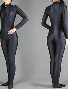 Unisex Zentai Suits Lycra / Spandex White / Black Zentai