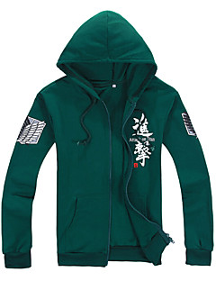 Attack on Titan Green,Black Cotton
