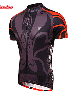 TASDAN® Cycling Jersey Men's Short Sleeve Bike Breathable / Quick Dry / Sweat-wicking Jersey / Arm Warmers / Jersey + Shorts / Tops100%