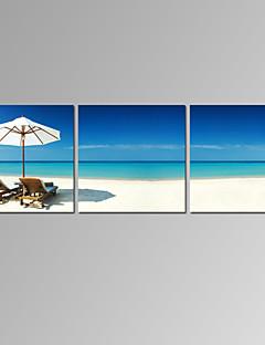 Berühmte / Landschaft / Patriotisch / Modern / Romantisch Leinwand drucken Drei Paneele Fertig zum Aufhängen,Horizontal