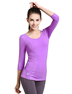 SMOEDOD® Women's Long Sleeve Running T-shirt Tops Breathable Antistatic Compression Sweat-wicking Spring Summer Fall/Autumn WinterSports