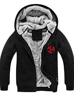 geinspireerd door Naruto Naruto Uzumaki Anime Cosplay Kostuums Cosplay Sweaters Print  Zwart Lange mouw Top