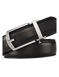 Colors Ratchet Belt Luxurious  Genuine Leather Pin Buckle Belt Can Adjust Size