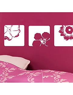 Florales / Paisaje / Formas / 3D Pegatinas de pared Calcomanías 3D para Pared,vinyl 56*58cm