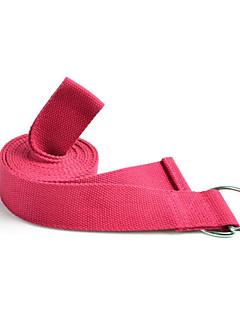 Yoga Straps Stretch Strap Exercise & Fitness / Yoga / Gym Unisex Cotton