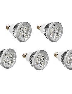 Spot LED Blanc Chaud / Blanc Froid 5 pièces E14 6W 500 LM AC 100-240 V