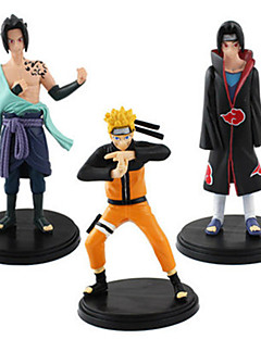 Naruto Naruto Uzumaki Anime Action Figures Model Toys Doll Toy 1pc 17cm Packed In Bags