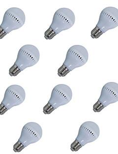 5W E26/E27 LED-globlampor A60(A19) 18 SMD 2835 400 lm Varmvit / Kallvit Dekorativ AC 85-265 / AC 220-240 V 10 st
