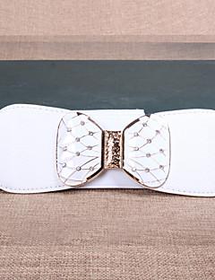 Žena Vintage / Roztomilý / Party / Na běžné nošení Slitina Kůže Široký pásek