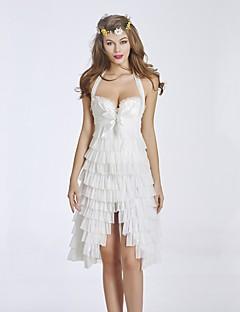 Ženy Korzet pod prsa / Korzet / Korzetové šaty / Sada s korzetem / Větší velikosti Noční prádlo Sexy / Push-up podprsenky / Retro