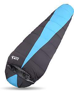 침낭 직사각형 침낭 싱글 # 중공 코튼 300g 230X80 하이킹 / 캠핑 방수 / 호흡 능력 / 먼지 방지 / 바람 방지 / 따뜻함 유지 / 추운 날씨 BSWolf