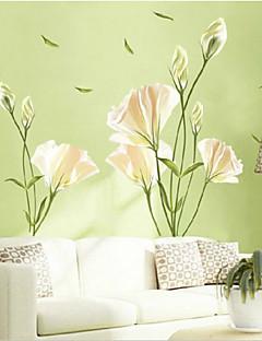 환경 백합 모양의 거실 / 침실 벽 스티커