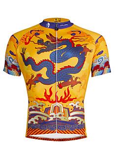 PALADIN® Cycling Jersey Men's Short Sleeve BikeBreathable / Quick Dry / Ultraviolet Resistant / Reflective Strips / Back Pocket / Reduces