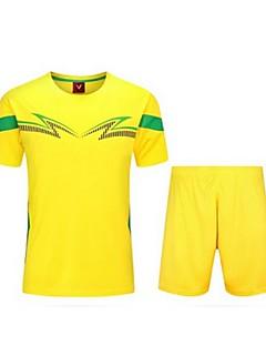 Enfant Football Shirt + Shorts Ensemble de Vêtements Séchage rapide Respirable Printemps Eté Hiver Automne Classique TérylèneExercice &