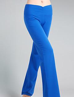 מכנסיים יוגה מכנסיים נושם תומך זיעה טבעי מתיחה בגדי ספורט שחור כחול לנשים יוגה כושר גופני ספורט פנאי