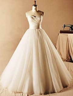 2017 Ball Gown Wedding Dress Floor-length Sweetheart Tulle with Ruche