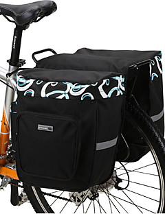 Bike Bag 30LPanniers & Rack Trunk Waterproof / Shockproof / Wearable Bicycle Bag Mesh / 600D Polyester Cycle Bag 37*28*36