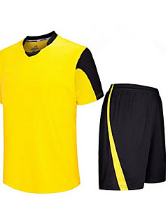 Homme Enfant Football Shirt + Shorts Ensemble de Vêtements/Tenus Respirable Séchage rapide Printemps Eté Automne Hiver Classique Térylène