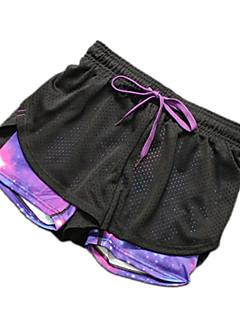 Yoga Pants Shorts Respirável / Secagem Rápida Natural Stretchy Wear Sports Outros Mulheres OutrosIoga / Fitness / Esportes Relaxantes /