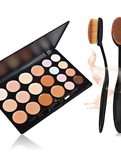 20 Correcteur/ContourPinceaux de Maquillage Sec VisageGloss coloré Couverture Blanchiment Anti Peau Grasse Correcteur Tonalité Inégale de