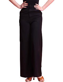 ריקוד לטיני חלקים תחתונים בגדי ריקוד נשים אימון כותנה ממורצרת חלק 1 גבוה מכנסיים
