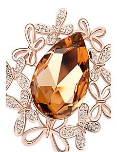 de înaltă calitate brosa cristal fluture pentru doamnă petrecere de nuntă