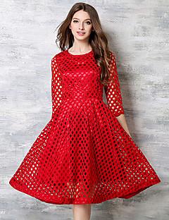 maxlindy Frauen Ausgehen / Cocktail / Urlaub Jahrgang / Straße chic / anspruchsvolle Kleid