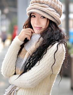 Women Wool Scarf,Cute / Casual Rectangle