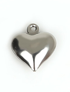 챰 메탈 Heart Shape 그림으로 20Pcs