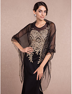 Women's Wrap Shawls Sleeveless Tulle More Colors Wedding / Party/Evening