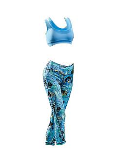 Calça com Camisa para Ciclismo Mulheres Sem Mangas Moto Impermeável Conjuntos de Roupas/Ternos Algodão Verão Ciclismo/Moto