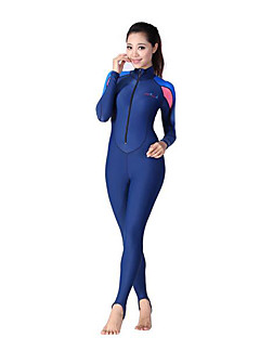 Dive&Sail® Women's Wetsuits Dive Skins Full Wetsuit Ultraviolet Resistant Full Body Compression Tactel Diving Suit Long SleeveDiving