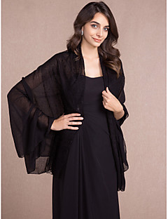 Women's Wrap Shawls Sleeveless Cotton / Lace More Colors Wedding / Party/Evening / Casual LaceOpen