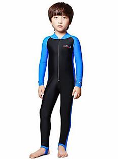 Mulheres Homens Crianças Roupas de mergulho Wetsuits completos Resistente Raios Ultravioleta Compressão Corpo Inteiro TactelFato de