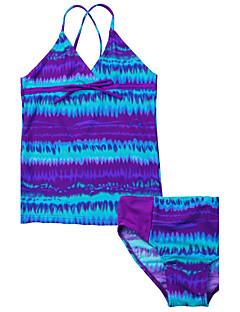 女の子 ストライプ ファッション スイムウェア,ポリエステル ナイロン